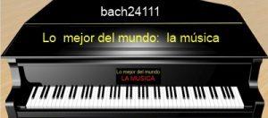 El piano . Explicación visual. 88teclas.