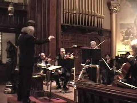 Bach. Doble concierto para dos violines en remenor.