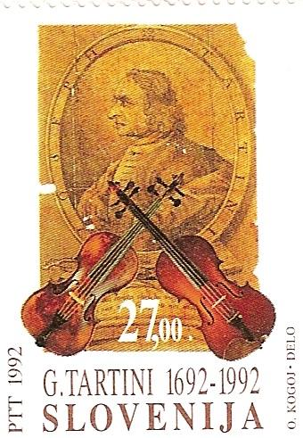 Filatelia musical: Tartini.