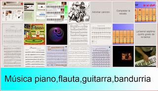 Musica y piano
