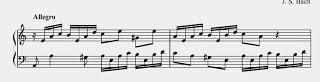 Aprender piano con Bach. Invención13