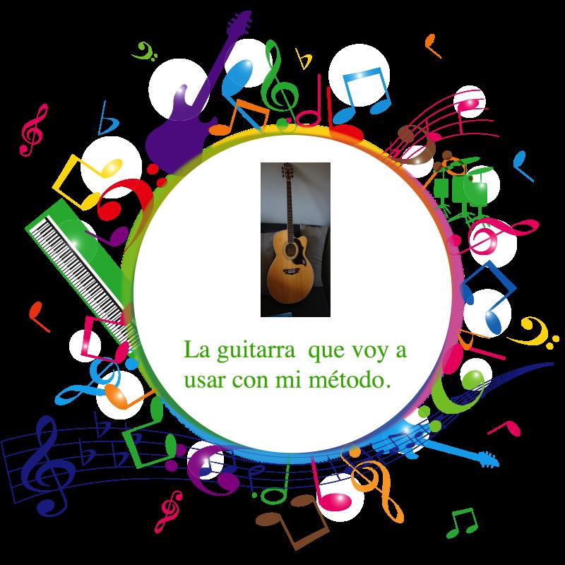 Mi guitarra para aprender. Métodofácil