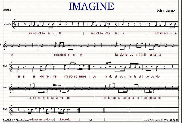 imagine flauta